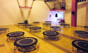 Power Bounce Fitness: Up to Six Cardio Trampoline Classes at Power Bounce Fitness