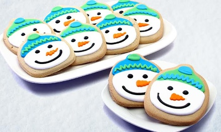 Cookie Gifts, plus Elf on the Shelf Cookie Tin, from Corso's Cookies (Up to 71% Off). Two Options Available.