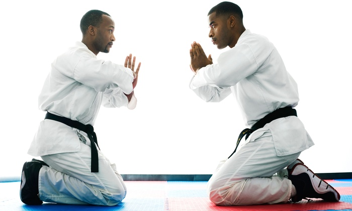 Kyokushin Karate - Palms: One Month of Adult or Youth Karate Classes with Uniform and Waived Registration at Kyokushin Karate (Up to 72% Off)