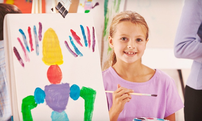 MakeSpace Arts - East Central: $30 for Three Tiny Masters Art Classes for Kids Aged 2–7 at MakeSpace Arts ($60 Value)