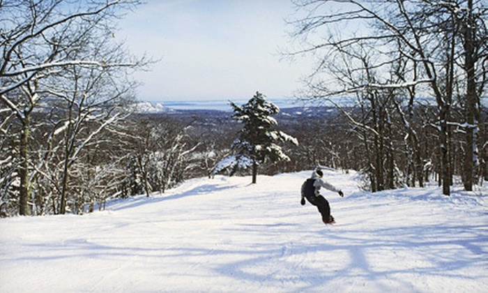 Camden Snow Bowl - Camden: Full-Day Ski-Lift Tickets for Two or Four at Camden Snow Bowl (Up to 57% Off)