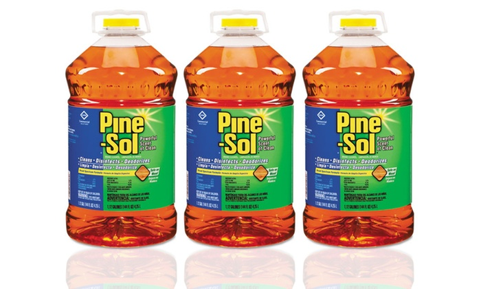 3-Pack of Pine-Sol Multi-Surface Disinfectant (144oz.): 3-Pack of Pine-Sol Multi-Surface Disinfectant (144oz.)