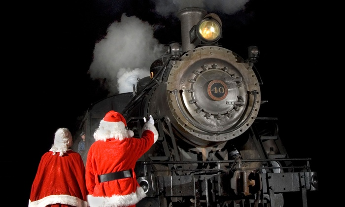 New Hope & Ivyland Railroad - New Hope: North Pole Train Ride for Two Adults or One Adult and One Child at New Hope & Ivyland Railroad  (40% Off)