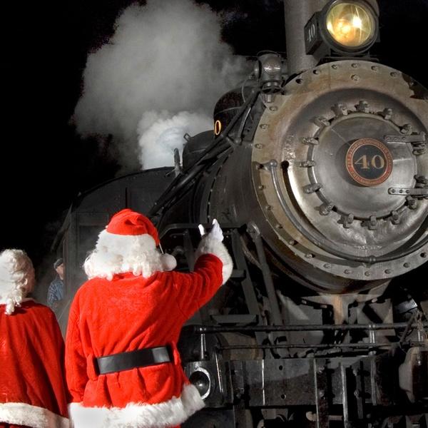 Christmas Train Ride Nj.New Hope Ivyland Railroad