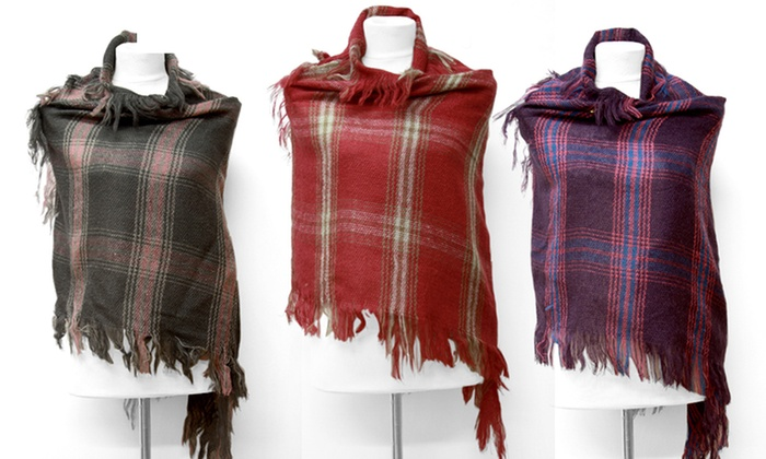 Plaid Fall Scarves: Plaid Fall Scarves. Multiple Colors Available. Free Returns.