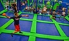 Up to 44% Off at AirHeads Trampoline Arena