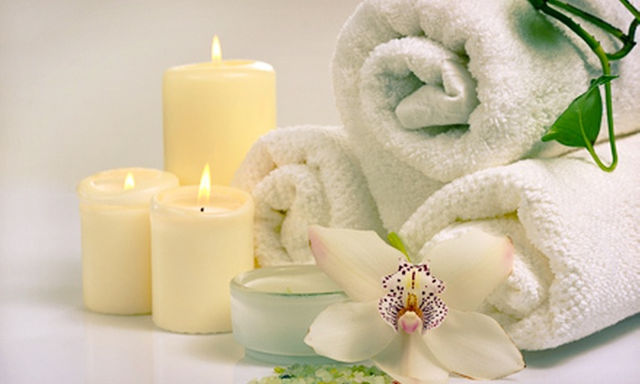 Pure Radiance Spa Salon & Tanning - Woodward Park: $65 for a Mini Island Escape Spa Package with Body Massage and Salt Scrub Treatment ($130 Value)