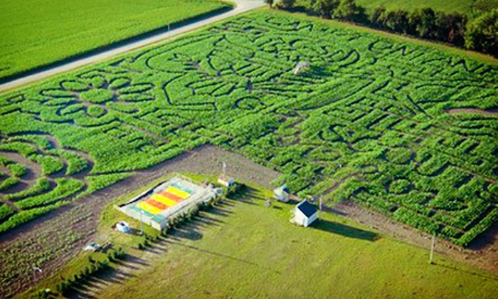 Camp Fontanelle - Camp Fontanelle: Corn-Maze and Laser-Tag Outings for Two, Four, or Six at Camp Fontanelle (Up to 56% Off). Five Options Available.