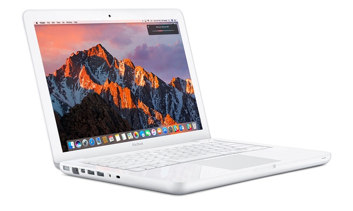 apple macbook a1342 reconditionn groupon shopping. Black Bedroom Furniture Sets. Home Design Ideas
