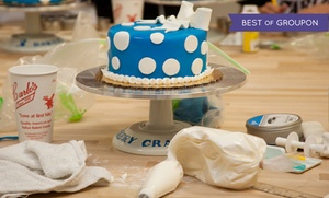 "Carlo's Bakery : Cake Decorating Class for One, Two, or Four at Carlo's Bakery, Seen on TLC's ""Cake Boss"" (Up to 50% Off)"