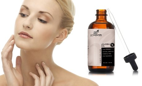Art Naturals 100% Organic Pure Jojoba Oil for Skin and Hair; 4 Fl. Oz.