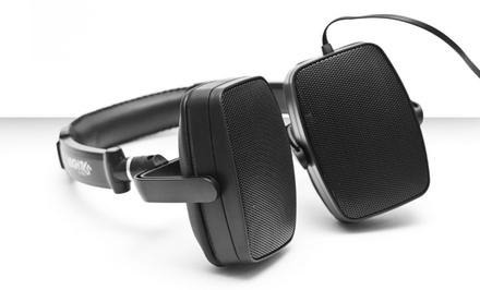 385 Audio DuoPlay Over-Ear Stereo Headphones and Portable Speakers