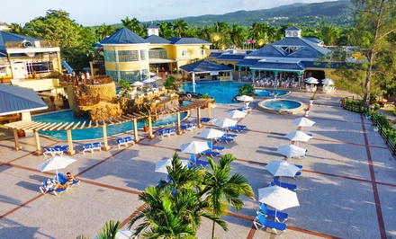 groupon daily deal - ✈ All-Inclusive Jewel Paradise Cove Stay with Air. Includes Taxes and Fees. Price per Person Based on Double Occupancy.