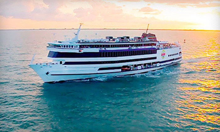 Victory Casino Cruises - Cocoa Beach-Cape Canaveral: Casino-Cruise Package for One or Two with Food, Drinks, and Slot Play from Victory Casino Cruises (Up to 54% Off)