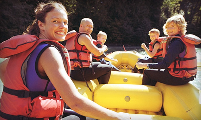 Urban Currents - Multiple Locations: Three- or Five-Hour Raft Rental for Two to Six People from Urban Currents (Up to 51% Off)