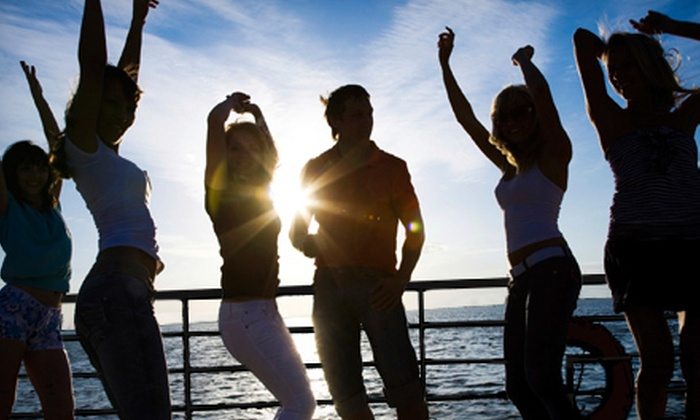 FantaSea Entertainment - Vancouver: $80 for a Four-Hour Canada Day Party Boat Cruise for Two from FantaSea Entertainment ($160 Value)
