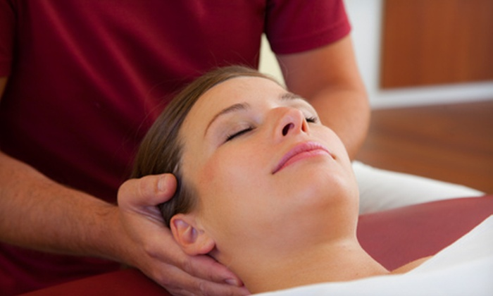 Hatch Chiropractic & Wellness - Parker: Exam with Option of One or Three Adjustments and Therapeutic Sessions at Hatch Chiropractic & Wellness (Up to 89% Off)