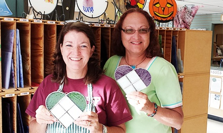 Three-Hour Introductory Stained-Glass Heart Workshop for One or Two at Harmony Stained Glass (Up to 53% Off)