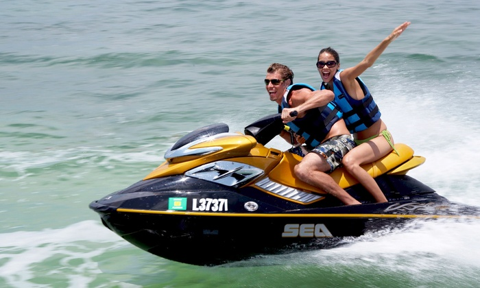 Southern Wave Sailing Charters - SPI Water Sports: One-Hour Waverunner Rental for Two or Four from Southern Wave Sailing Charters (Up to 30% Off)