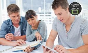 Blue Sky Escola de Idiomas: Curso intensivo de verão (inglês, espanhol, mandarim, francês ou alemão) com 40h e opção com + 1 semestre