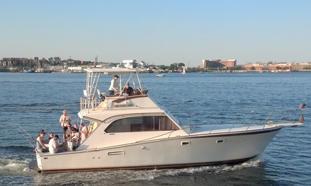 Motorboat Rental, Cruise Charter, or Fishing Charter from Boston Harbor Boat Rentals (Up to 58% Off)