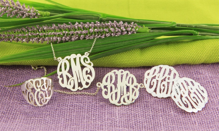 Monogram Online: Personalized Jewelry from Monogram Online (Up to 60% Off). Three Options Available.