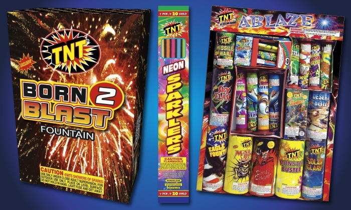 TNT Fireworks Warehouse - Tucson: $10 for $20 Worth of Fireworks at TNT Fireworks Stands & Tents