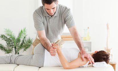 $16 or $26 for Up to 75% Off a Chiropractic Care Package at the Clinique Chiropratique St-Martin