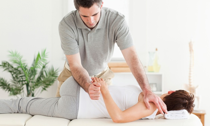 Connected Chiropractic - Connected Chiropractic: One or Three Chiropractic Adjustments with Exam at Connected Chiropractic (Up to 81% Off)