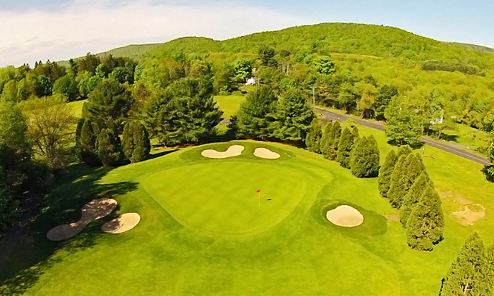 Simsbury Farms - West Simsbury: 18 Holes of Golf for Two, Valid Monday–Friday or Anytime at Simsbury Farms (Up to 41% Off)