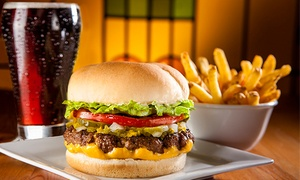 Fatburger: CC$8 for One Original Fatburger with Cheddar Cheese, Skin-on Fries and a Drink at Fatburger (CC$13.17 Value)