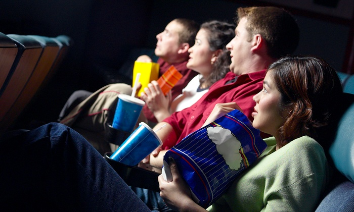 RiverWalk Movies - Jenks: $12 for Two Movie Tickets and One Large Popcorn at RiverWalk Movies (Up to $23.50 Value)