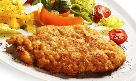 3-Gänge-Schnitzelmenü für 1 oder 2 Personen in Lili's Bar Restaurant ab 24,90 €