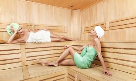 2 uur privésauna voor 2 personen bij The Golden Wellness in Gent