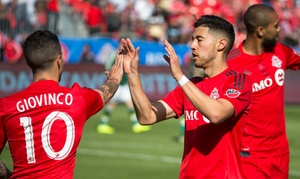 Toronto FC: Toronto FC Soccer Match at BMO Field on August 5 at 8 p.m. (Up to 43% Off)