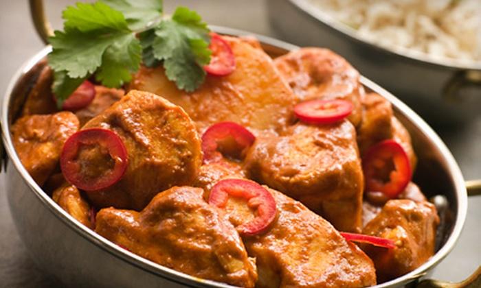 Sitar Indian Cuisine - Nashville-Davidson metropolitan government (balance): $7.49 for $15 Worth of Indian Cuisine for Tables of Two or More at Sitar Indian Cuisine