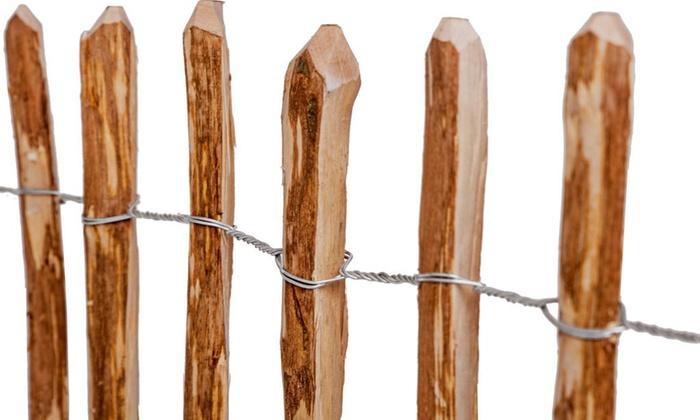 Jusqu\'à 11% Palissade en bois   Groupon