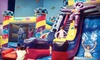 "Pump It Up - Schaumburg - Schaumburg: 1, 4, or 8 Open Jump Sessions or ""Parents' Night Out"" Event at Pump It Up (Up to 45%Off)"