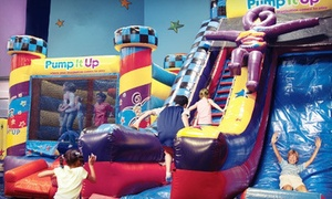 "Pump It Up - Schaumburg: 1, 4, or 8 Open Jump Sessions or ""Parents' Night Out"" Event at Pump It Up (Up to 45%Off)"