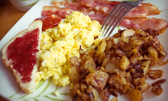Schellville Grill - Sonoma: $19 for Breakfast for Two with Two Mimosas at Schellville Grill (Up to $37.80 Value)