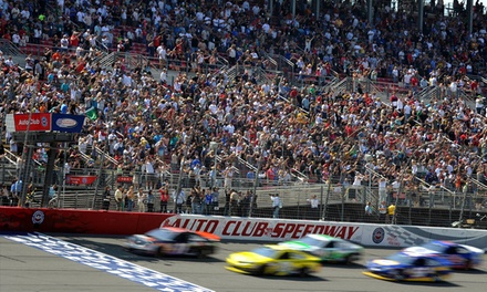 $49 for One Ticket to the Auto Club 400 at Auto Club Speedway on March 22 at 12:30 p.m. ($109 Value)