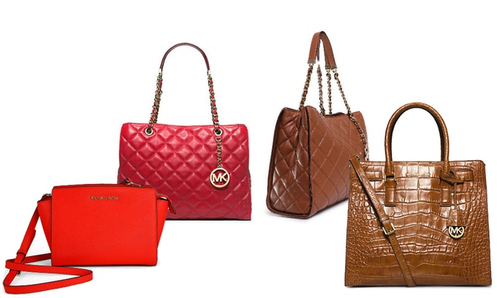 59c004476ee Michael Kors Handbags   Groupon Goods