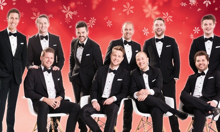 The Ten Tenors – Home for the Holidays on Friday, December 18, at 8 p.m.