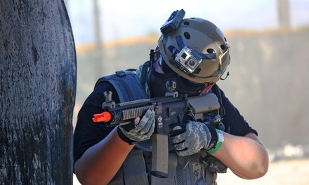 Half Day of Airsoft for One, Two, or Four at Las Vegas Premier Paintball (Up to 41% Off)