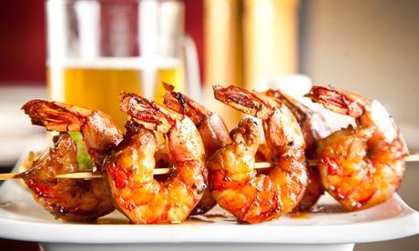 Menú para 2 o 4 con entrante, principal, postre y bebida desde 19,90 € en San Marcos Oferta en Groupon