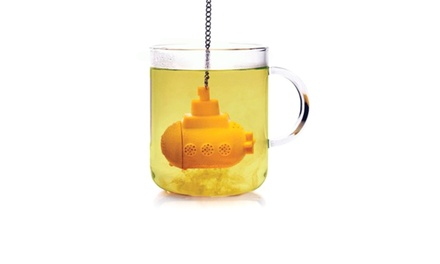 2-, 4-, or 6-Pack of Yellow Submarine Tea Infusers