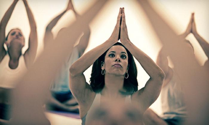 Bikram Yoga College of India - Grand Lake: $39 for 10 Classes at Bikram Yoga College of India (Up to $100 Value)