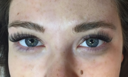 Full Set of Eyelash Extensions at Aesthetically Aubrey (50% Off)