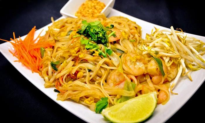 Sushi Thai - Pickerington: $15 for $25 Worth of Thai Fusion and Sushi at Sushi Thai