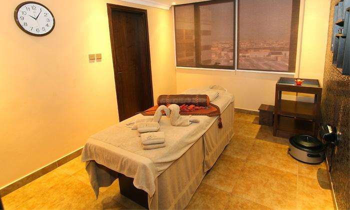 One hour harmony massage orange wellness spa groupon for 180 degrees salon dubai